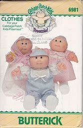 Image result for Free Printable Doll Clothes Patterns Cabbage Patch