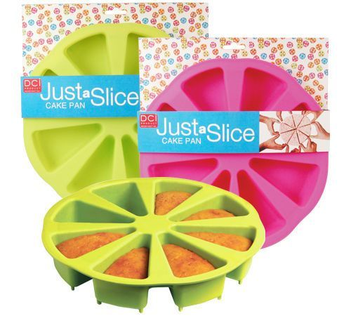 """just a slice"" cake pan"