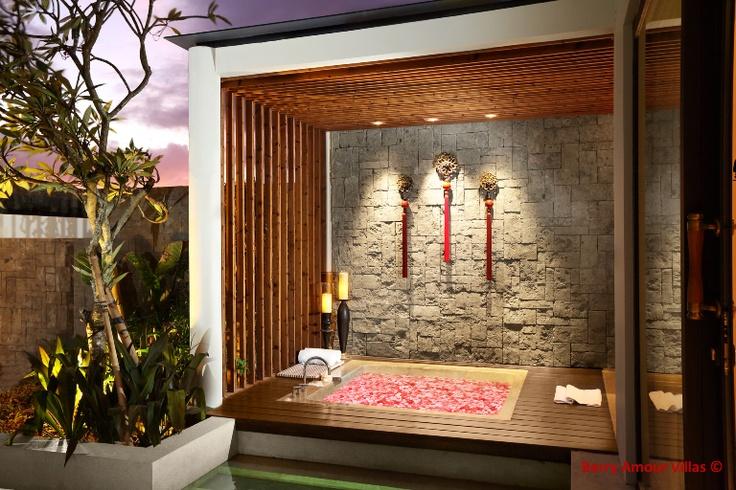Romantic villas dedicated to honeymooners and couples. #berryamourvillas #romanticvillas #honeymooners #couples #seminyak #bali #indonesia