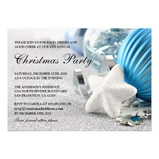 180 best christmas and holiday party invitations images on christmas invitations winter and holiday party 5x7 paper invitation card stopboris Image collections