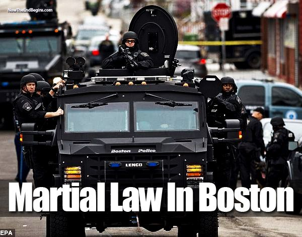 I AM Buddy, The BUDDHA From Mississippi ™: Boston 2013 Was a Martial Law Dress Rehearsal