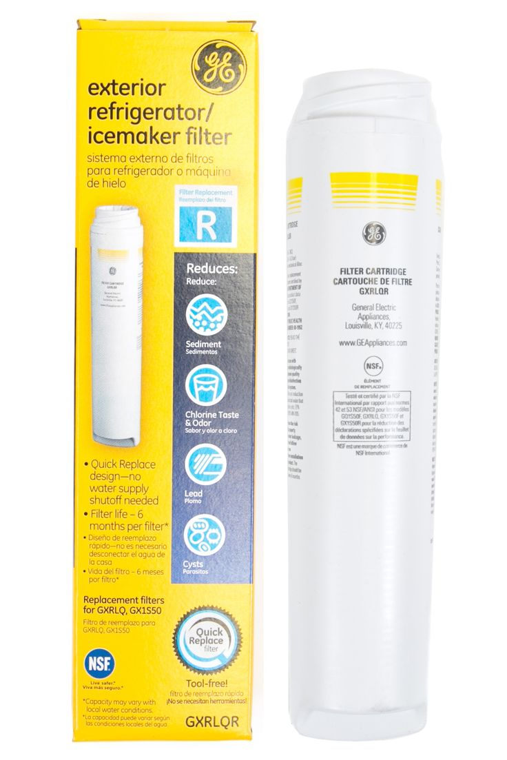 #GE / #Hotpoint #SmartWater #GXRLQR Inline #Water #Filter Replacement Cartridge