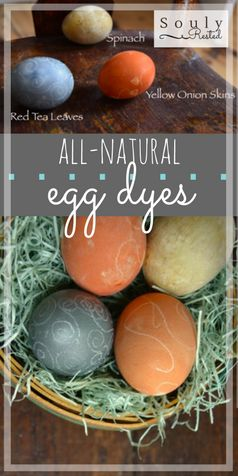 all-natural egg dyes | Easter eggs with all natural dyes | how to dye eggs with natural ingredients | dye eggs with things you have in your kitchen right now