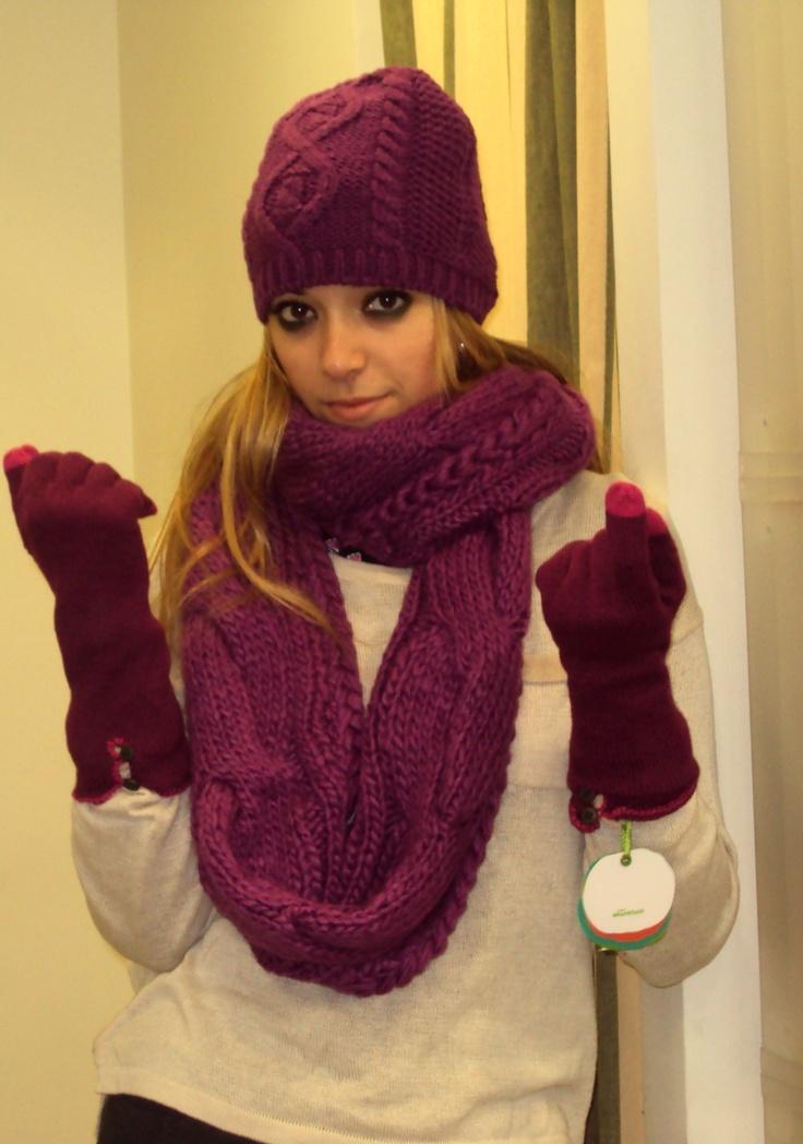conjunt de bufanda gorro i guants