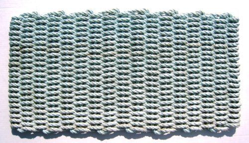 "Maine Float Rope Co. Reclaimed Float-Rope Doormat - Tourmaline - Large (24"" x 36"") by The Maine Float-Rope Company. $84.95. Resistant to mold and mildew, salt water and sun.. Colorful and pleasing to the eye, our doormats add a cheerful and warm welcome.. Cleanup is a snap. Just shake the mat out or hose it down. It's quick drying too.. Handmade by local crafters in Maine. Each mat is one of a kind.. Down East Doormats are handmade by local crafters in Maine.  Each of these ..."