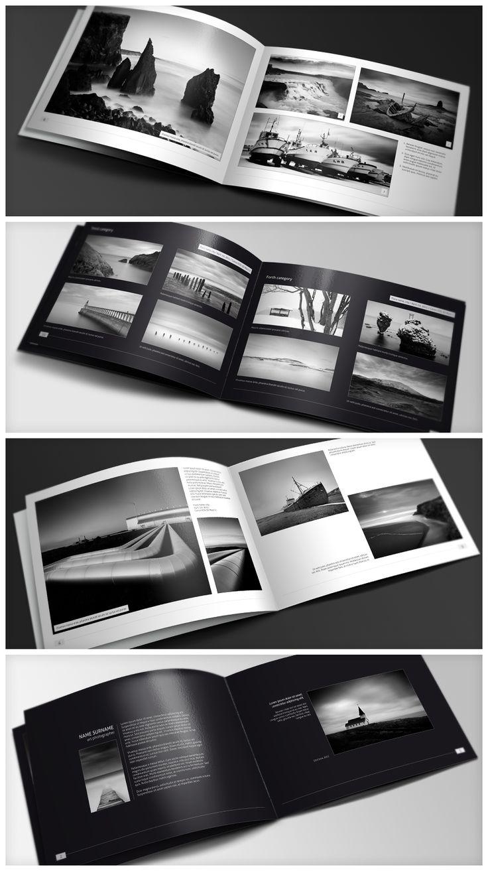 Minimal style brochure.