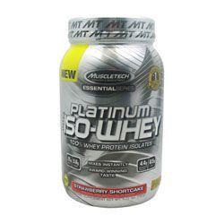 MUSCLETECH ESSENTIAL SERIES 100% PLATINUM ISO-WHEY