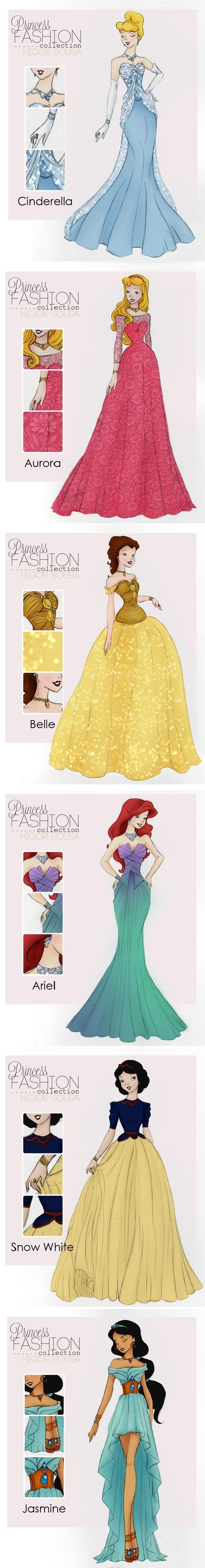 Disney designer princess collection modern.
