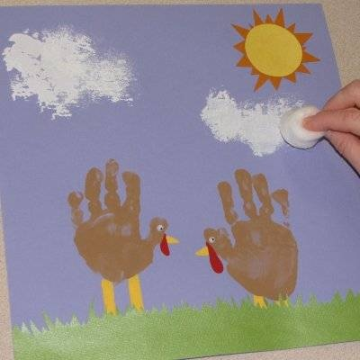 Cute idea for the kids to do together at Thanksgiving