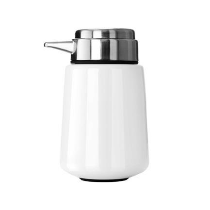 Vipp 9 Soap dispenser, White, Vipp Design Lab, Vipp