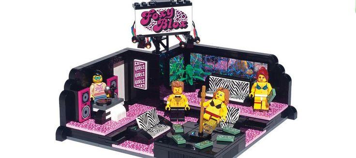 LEGO : un set non-officiel d'un club de Strip-Tease