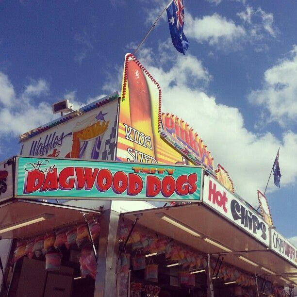 Ekka 2013. Dagwood Dog.