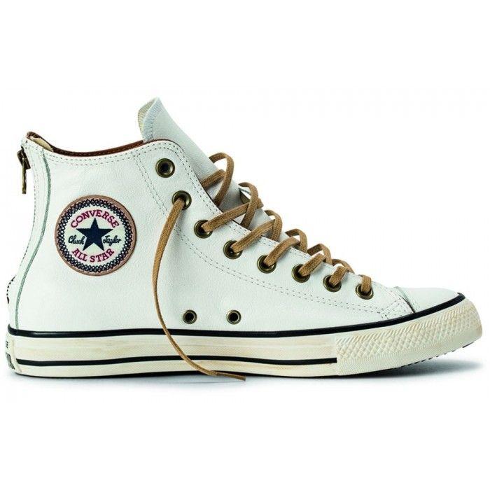 Tênis Converse All Star Ct As Back Zip Leather Hi Branco BQ1139253