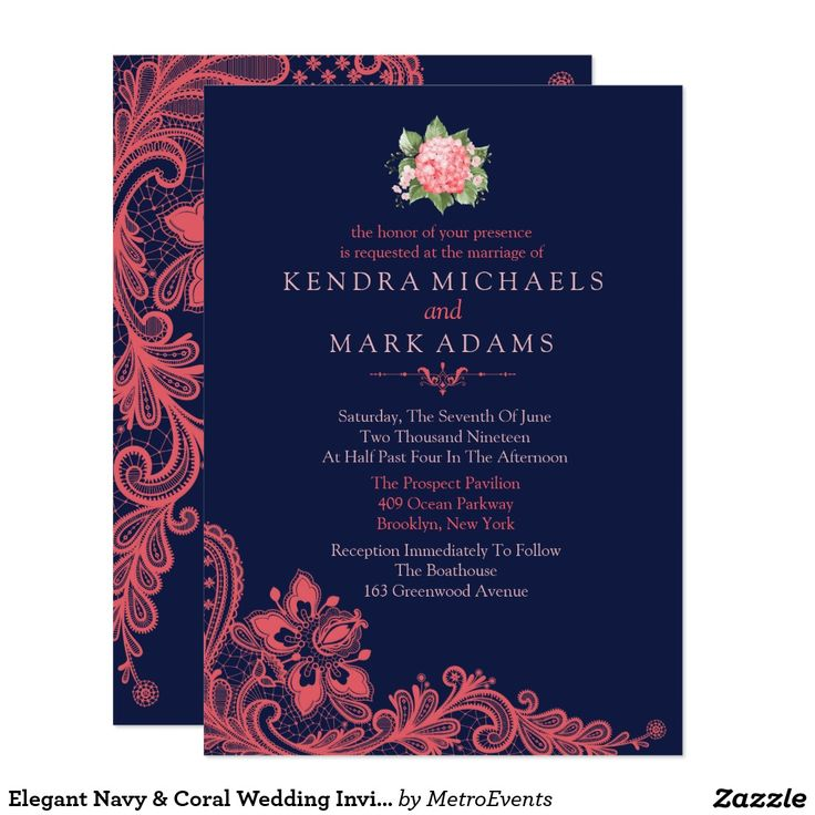 25+ best ideas about coral wedding invitations on pinterest, Wedding invitations