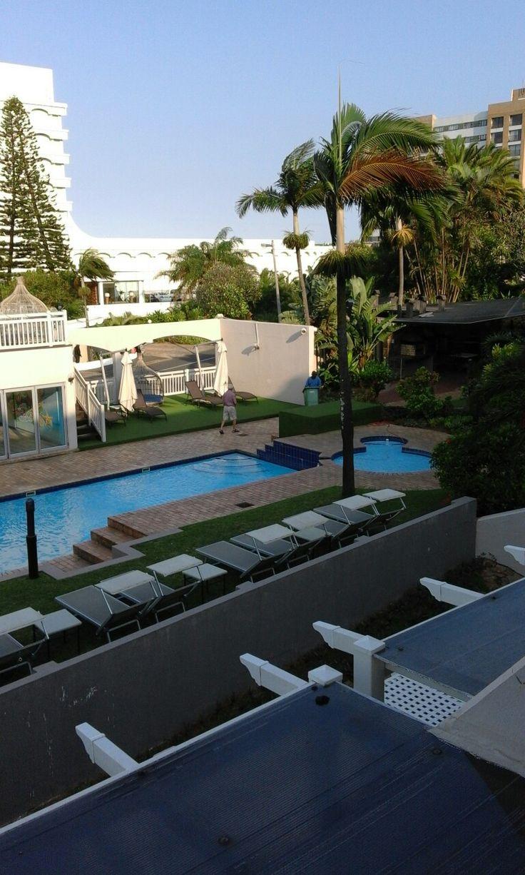 Pool area, Umhlanga Cabanas.