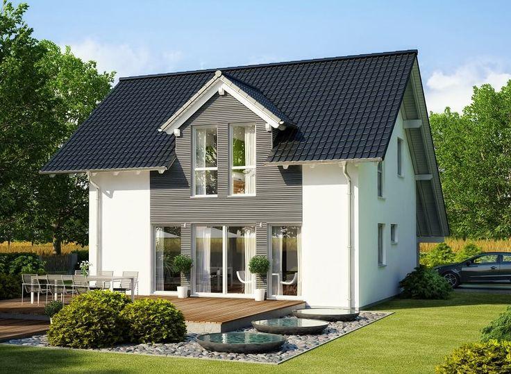 Haus bauen modern holz  Die besten 20+ weiße Fassade Häuser Ideen auf Pinterest | Fassade ...