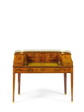 English, George III, Carlton House Desk, Ca. 1790, Mahogany, Boxwood ·  Carlton HouseRegency FurnitureAntique ...