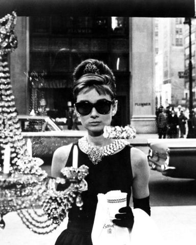 Audrey Hepburn as Holly Golightly: An iconic image that inspires my fashion sense.