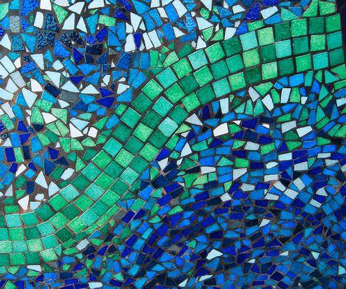 Mosaic Patterns Mosaics Mosaic Crafts Mosaic Art Sea