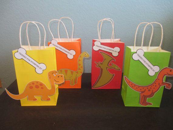 Goody dinosaurio bolsas 10 bolsas de Dino fiesta de