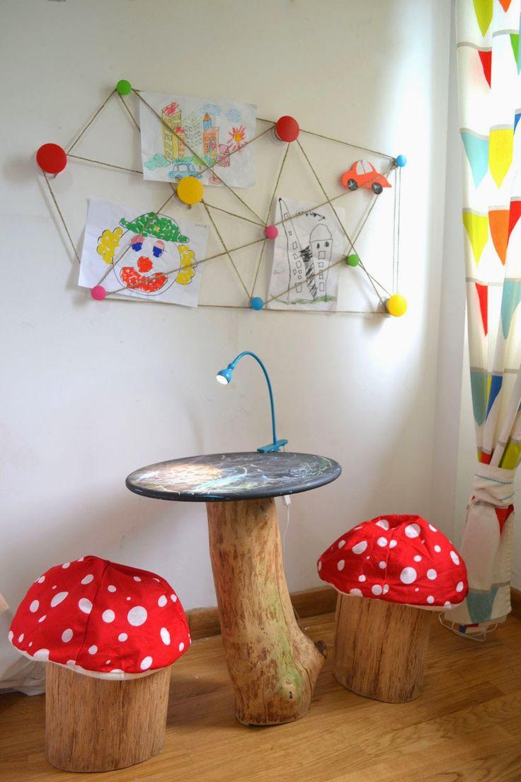Trop mignons les champignons !!