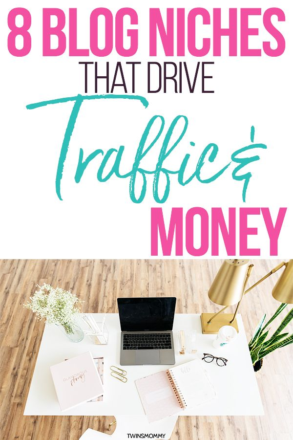 8 Blog Niches That Drive Traffic & Money (That Aren't About Blogging!) – Elna | Start a Blog for Moms
