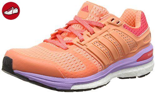 adidas Damen Supernova Sequence Boost 8 Laufschuhe, Orange (Sun Glow S16/Sun Glow S16/Shock Red S16), 41 1/3 EU - Adidas schuhe (*Partner-Link)