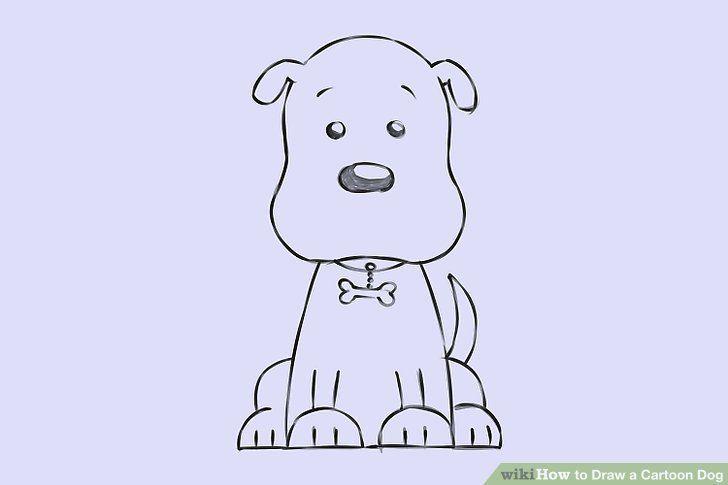 Puppy Drawing Easy Cartoon Dog Puppy Drawing Easy Puppy