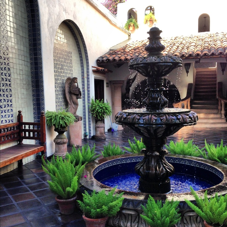 25 best images about fountains water features on - Spanish style water fountains ...