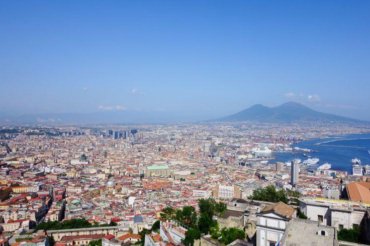 Napoli. Vesuvio. Italia.