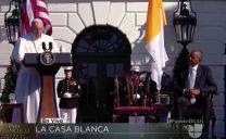 El Discurso Del Papa Francisco Al Presidente Obama 'Soy Un Hijo De Inmigrantes' #Video
