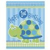 First Birthday Turtle Loot Bags