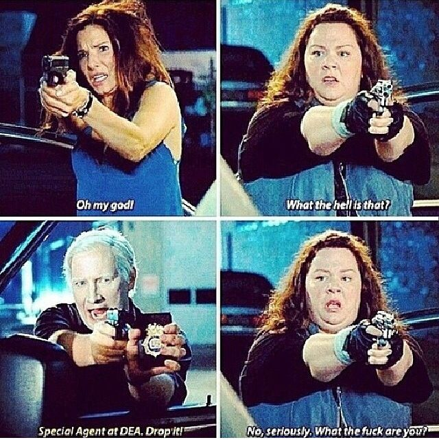 I love how she always made fun of the albino, then felt bad when he wasn't the bad guy