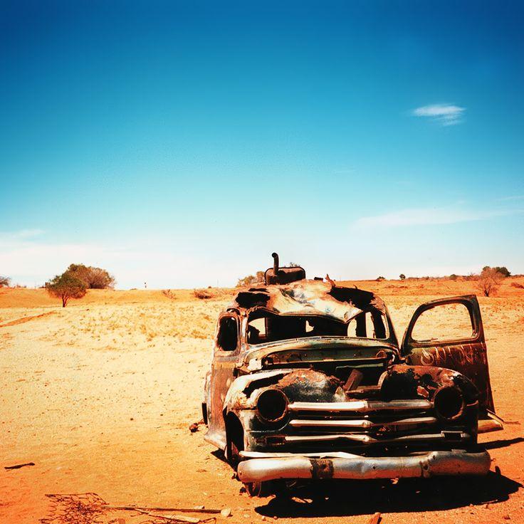 Ruggine, deserto, blu #autounica