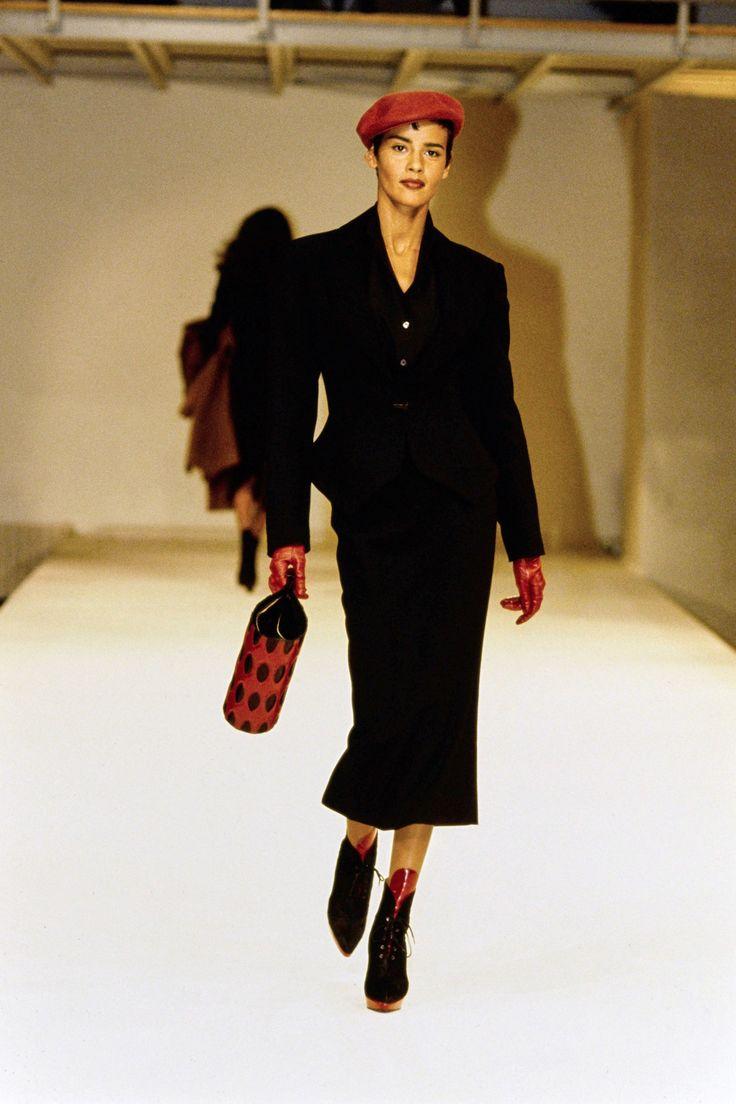 Azzedine ala a fall 1991 ready to wear fashion show