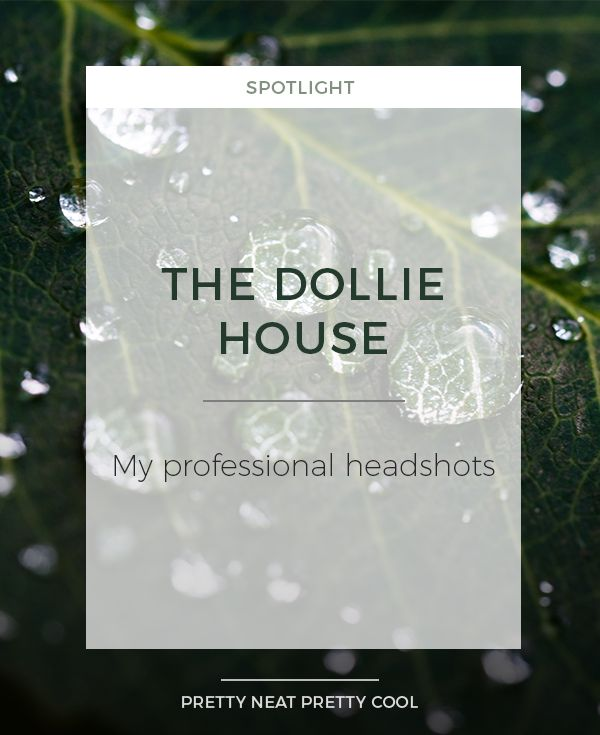 Meet The Dollie House - the photographic duo behind my professional headshots.