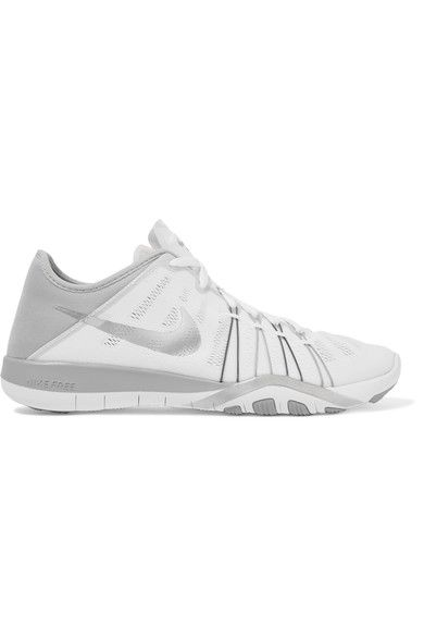 Nike - Free Tr 6 Mesh And Neoprene Sneakers - White - US
