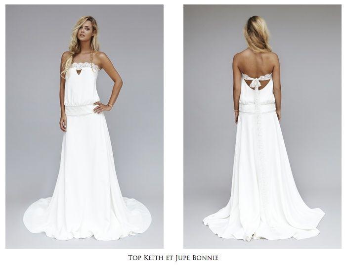 Vestidos de novia hippies diseño boho-chic de Rime Arodaky