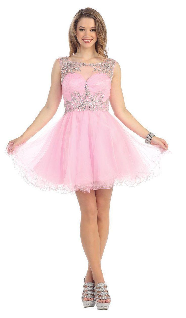 Mejores 51 imágenes de Prom Short Dresses en Pinterest | Vestidos ...
