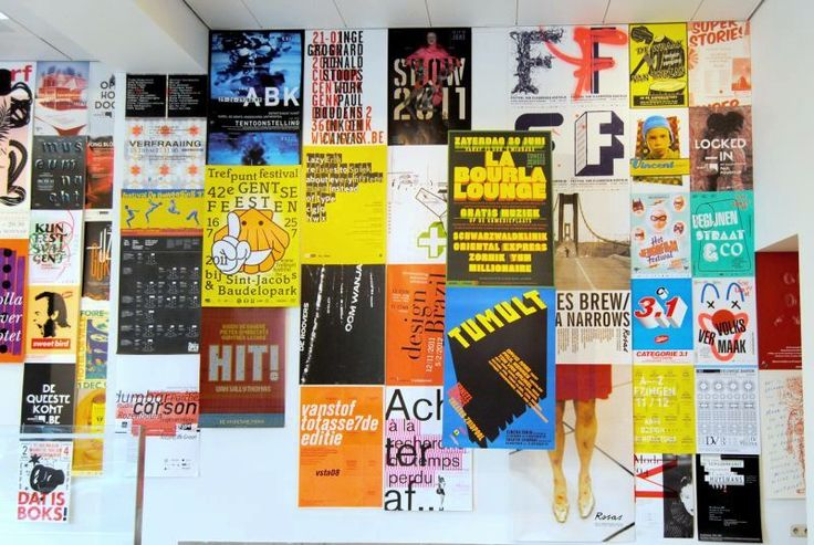 """Exhibition """"21 years of cultural posters"""" in Brussels (BE)"""