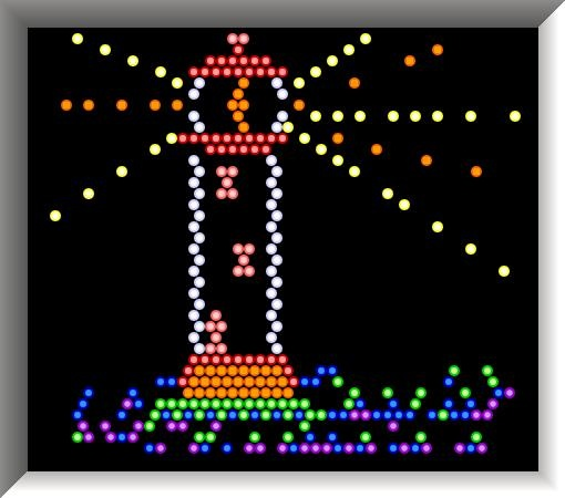 oh....lite brite.  i still get excited looking at this.  so magical. reminds me of the main street electrical parade.