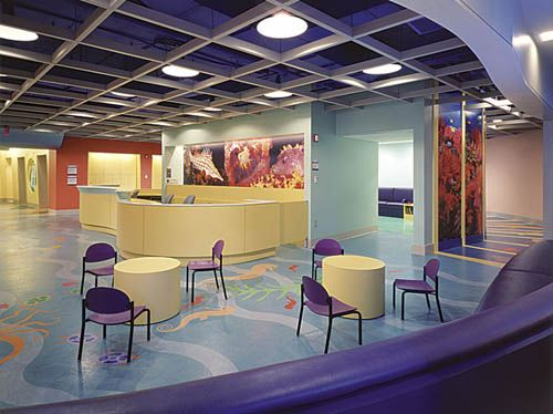 lobbies for children hospitals | Colorful modern ...