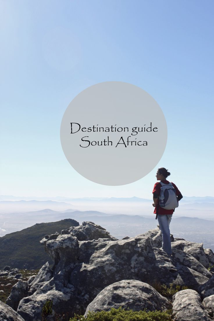 A destination and budget guide to South Africa http://aworldofbackpacking.com/destination-guide-south-africa