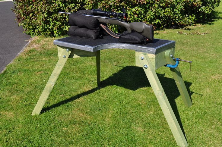 Diy Plans Shooters Bench Google Search Pinteres