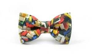 LEGO ready tie collection fall winter 2013 bow tie marthu bowties printed cotton print