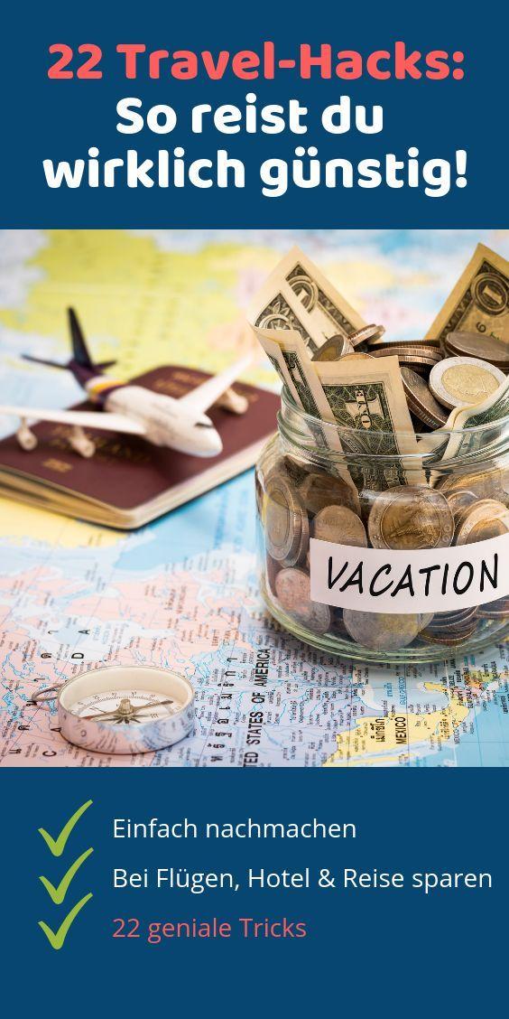 ᐅ Günstig in den Urlaub – mit diesen Tricks sparen Sie Geld beim Reisen – G…