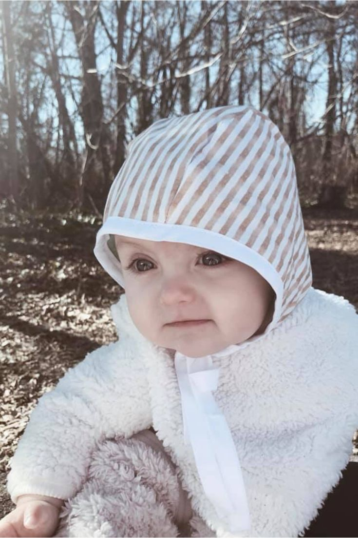 9db141cf1 Modern baby bonnet, baby bonnet, classic baby hat, motherhood, baby ...