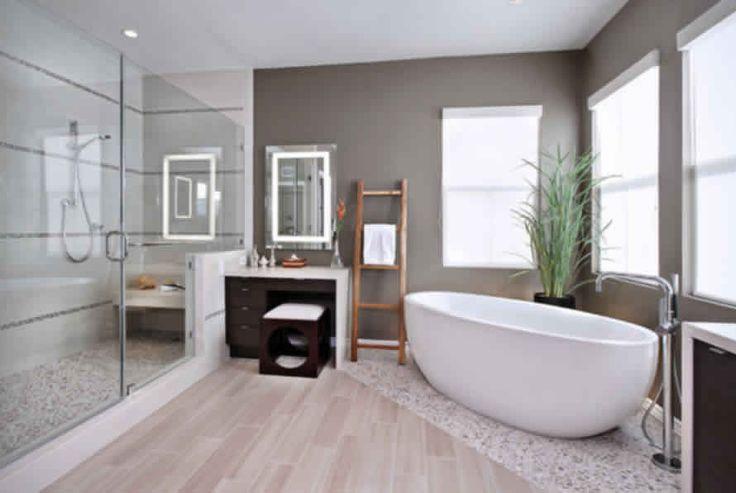 contemporary bathroom design modern bathtub wooden wardrobe carpet and tiles flooring httpwwwurbanhomezcomconstructionbathroom_fittings_ - Bathroom Designs In Mumbai