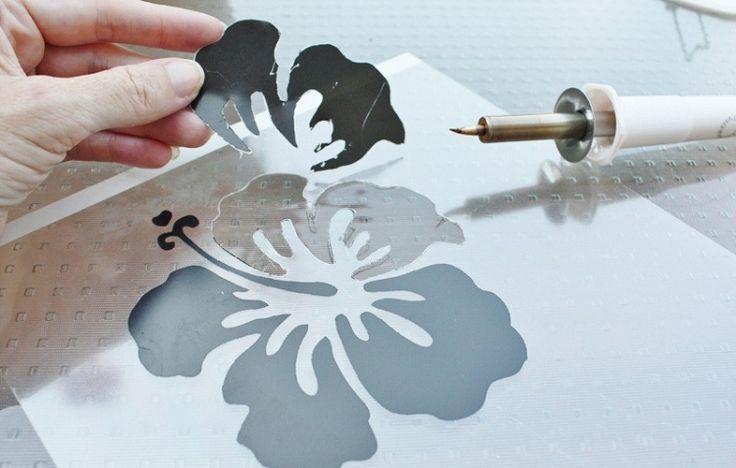 Ferramenta para criar Stencil e Aplicar Strass com 4 Pontas Martha Stewart Heat Tool