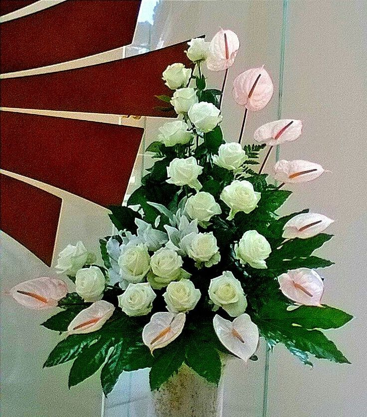 Church Altars Modern Flower Arrangement: 339 Best Church Altar Flower Arrengements Images On